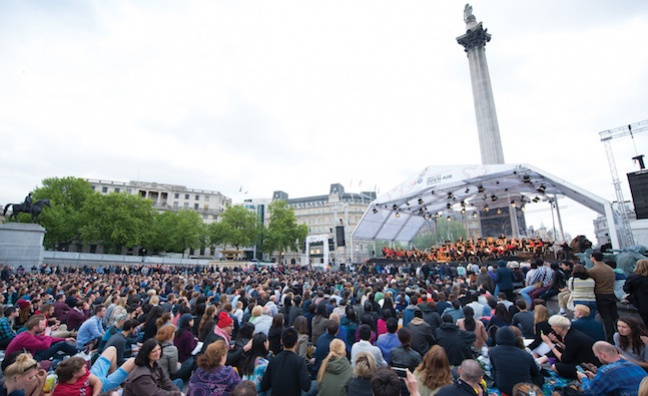 YouTube to live stream Sir Simon Rattle and LSO in Trafalgar Square