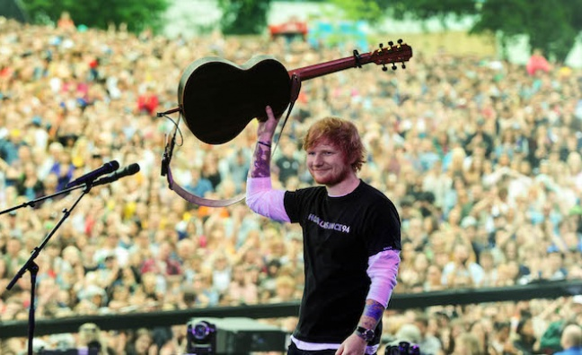 Ed Sheeran, Taylor Swift and Gallaghers enjoy Biggest Weekend boost