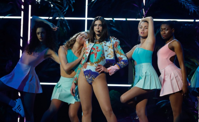 BRITs sales boost for Dua Lipa and Stormzy