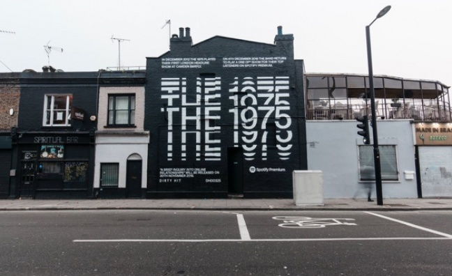 The 1975 to play Spotify Premium gig at Camden Assembly