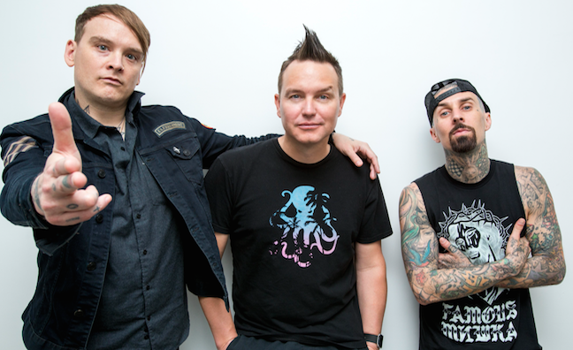 BMG celebrates second UK No. 1 album in less than a month as Blink-182 top chart