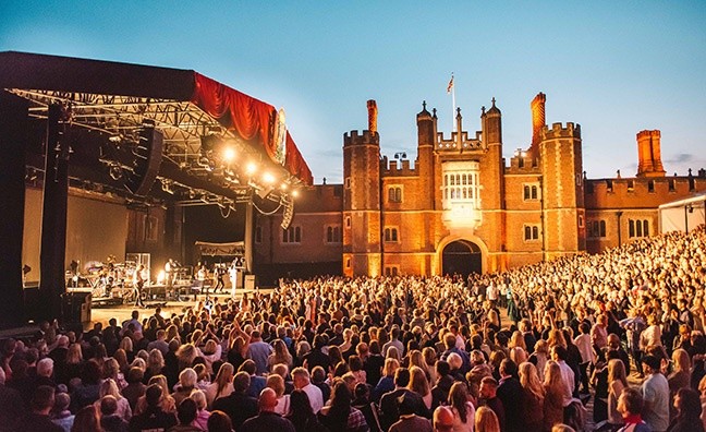 Hampton Court Palace Festival's Liz Young on the stately home concerts boom