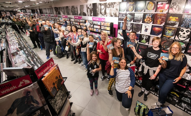 HMV confirms Oxford Street store closure