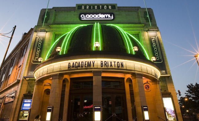 Live Nation and MelodyVR launch virtual O2 Academy Brixton concert series