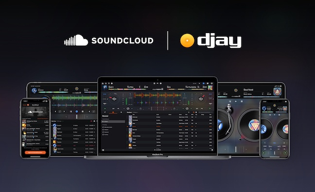 Djay app partners with SoundCloud and Tidal