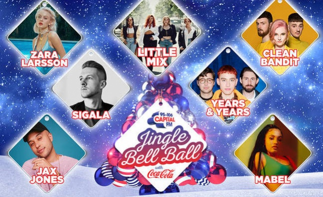 Capital's Jingle Bell Ball to stream on Twitter for the first time