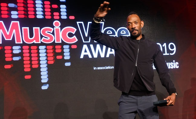 'I'm just humbled': Darcus Beese on his Strat win at the Music Week Awards