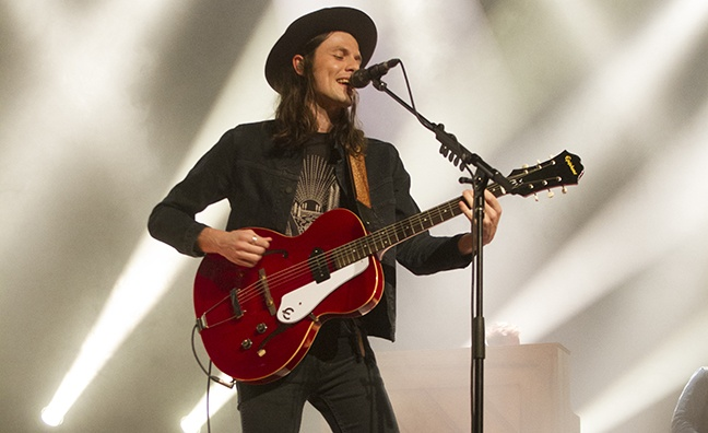 'I'm really excited about the music that I'm making': Music Week catches up with James Bay