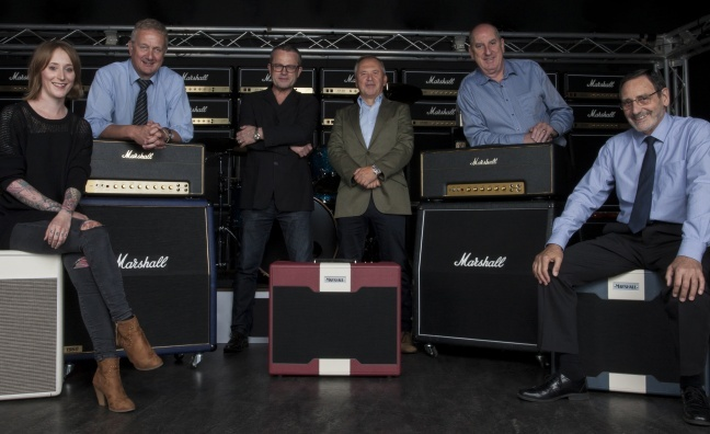 Guitar amp giant Marshall launches rock record label