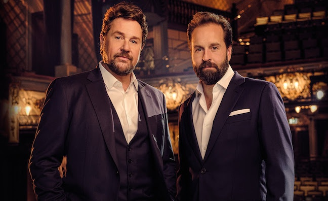 Michael Ball & Alfie Boe book 2020 UK arena tour