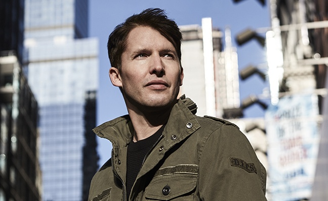 James Blunt says Ed Sheeran helped him write more personal songs for new album The Afterlove