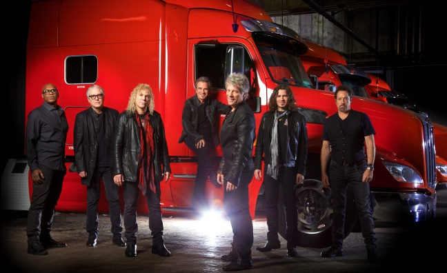 Bon Jovi announce UK stadium tour