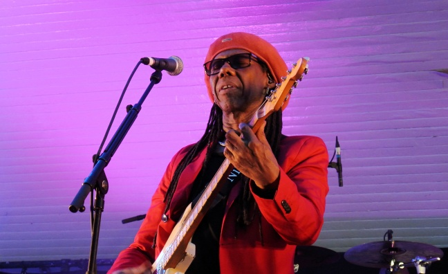 Nile Rodgers and Chic to headline BBC One's New Year's Eve celebrations