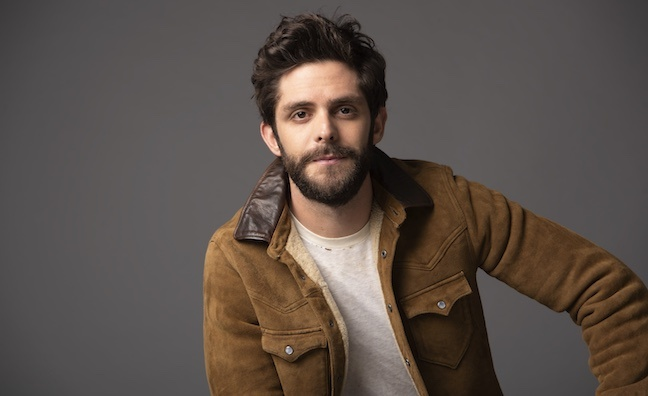 Thomas Rhett signs global publishing deal with Warner Chappell