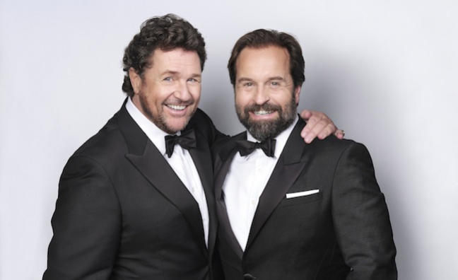 Michael Ball and Alfie Boe's Christmas album goes gold