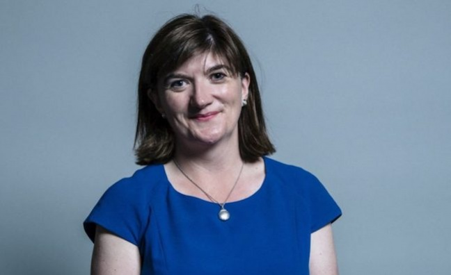 Who is Culture Secretary Nicky Morgan?