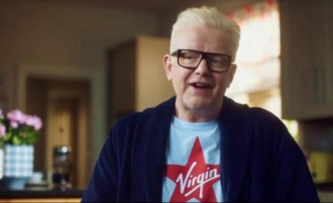 'It's the future': Chris Evans goes digital with Virgin Radio