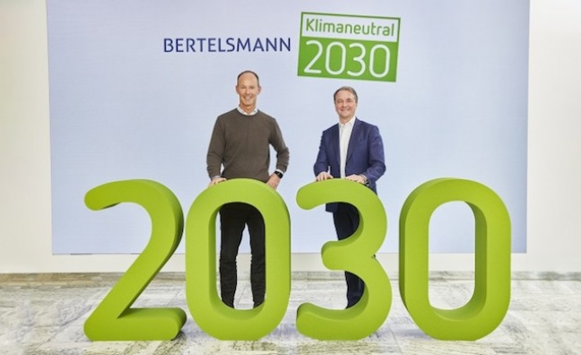 Everything's gone green: BMG parent to go climate neutral by 2030