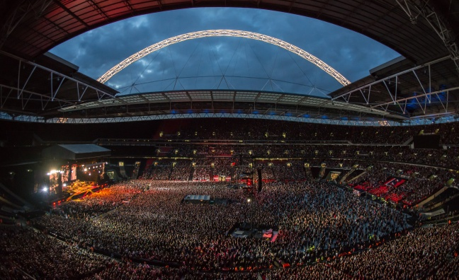 'We can't wait': Wembley Stadium's James Taylor on the venue's summer programme