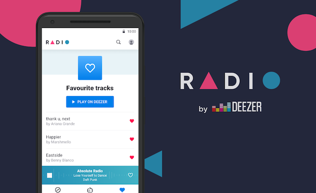 Deezer launches radio app that adds on-air tracks to music library