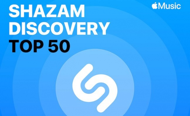 Apple Music launches Shazam Discovery Top 50 Chart