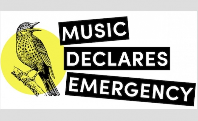 UK music industry declares climate and ecological emergency