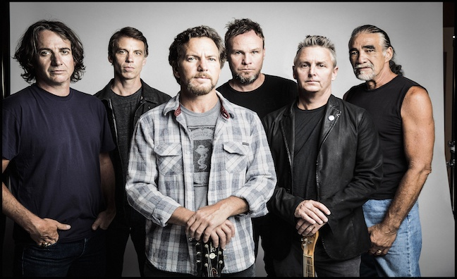 Pearl Jam to headline BST Hyde Park in 2020 as part of group's 30th anniversary celebrations