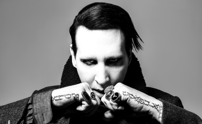Marilyn Manson cancels nine shows following on-stage injury