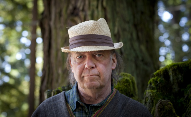 Neil Young sells half his music rights for '$150 million'
