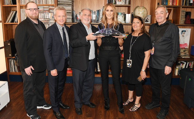 Celine Dion breaks concert records