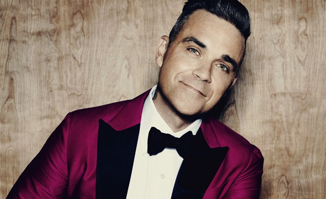 Robbie Williams announces new album of previously unreleased material