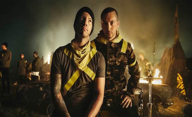 Twenty One Pilots win BBC Radio 1's Hottest Record Of The Year