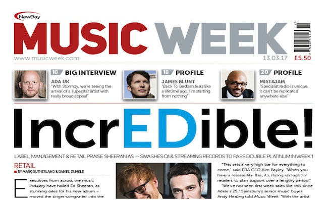 New issue of Music Week out now