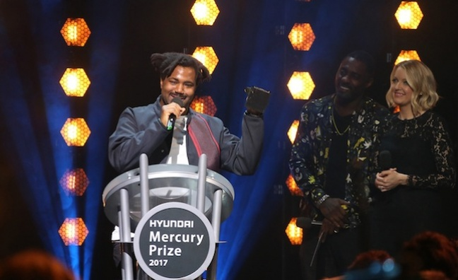 Sampha wins Hyundai Mercury Prize 2017