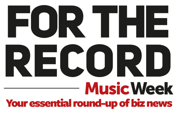 For The Record (April 2): Warner/Chappell, Deezer, LiveStyle, Royal Albert Hall