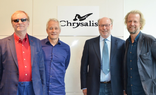 Chrysalis Records acquired by Blue Raincoat Music founders Jeremy Lascelles and Robin Millar