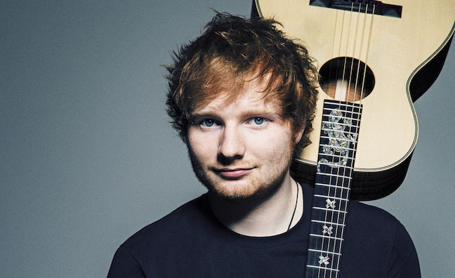 Ed Sheeran gets top songwriters' certifications