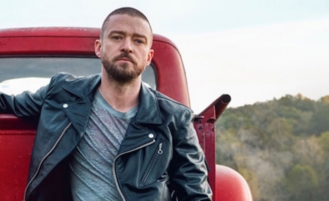 Justin Timberlake makes initial global impact with Man Of The Woods