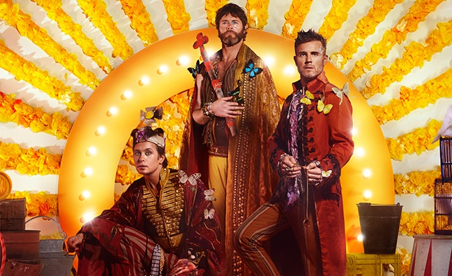 Midweek Sales Flash: Take That top 100K sales with new album Wonderland