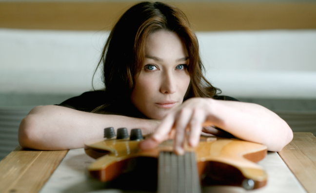 Carla Bruni signs to Pascal Negre's #NP management company