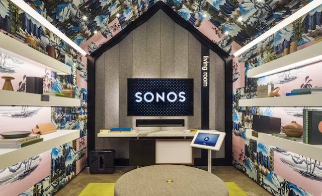 Sonos launches first European concept store in London