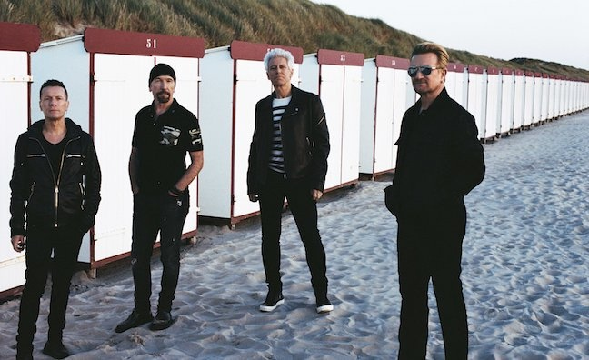 U2 to play Trafalgar Square on Saturday as part of MTV EMA celebrations