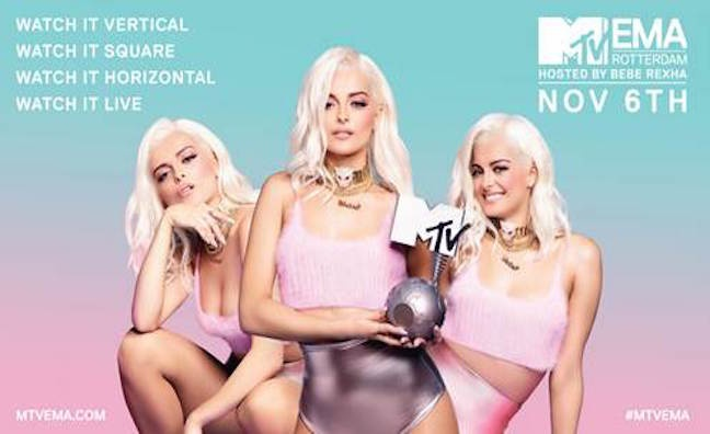 Bebe Rexha to host 2016 MTV EMAS