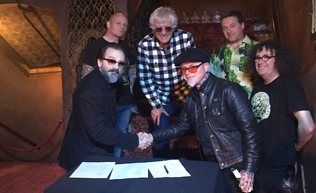 The Damned sign to Search And Destroy for first album in 10 years