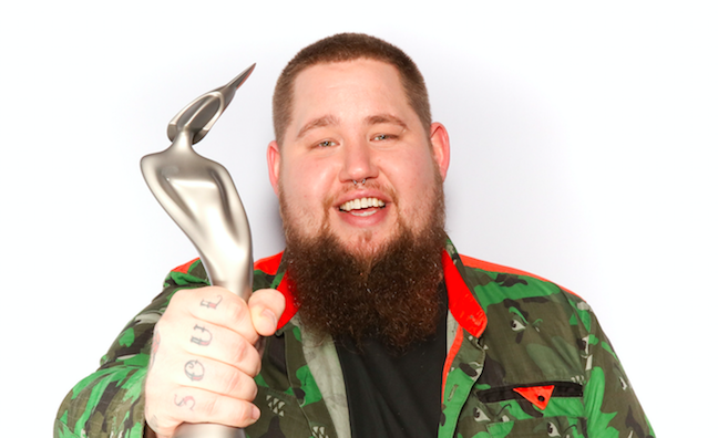 Rag'N'Bone Man wins BRITs Critics' Choice Award
