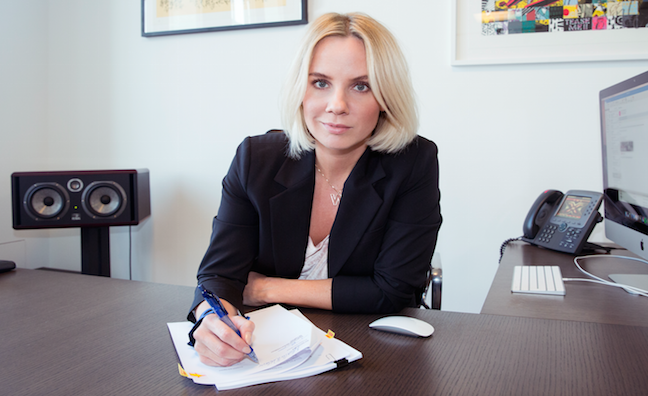 Syco signs record deal with hit songwriter Ina Wroldsen