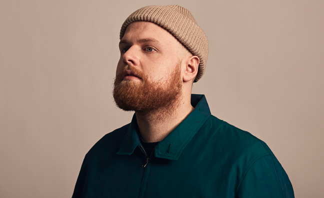 'I'm absolutely buzzing': Tom Walker reacts to Music Week Sync Awards win