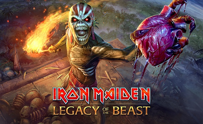Slaying Ahead Of The Game: Exploring Iron Maiden's groundbreaking approach to video games
