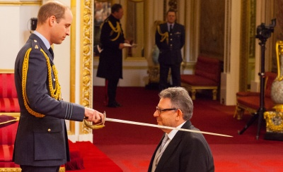 Sir Lucian Grainge knighted at Buckingham Palace