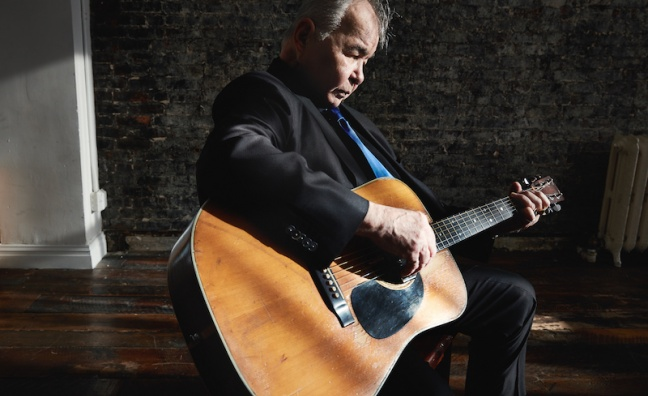 Downtown signs John Prine to worldwide publishing deal